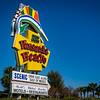 Pensacola Beach Sign Day