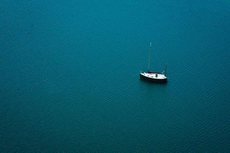 Boat in Little Sabine