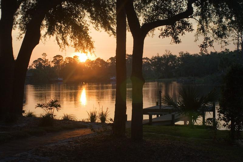 Star Lake Sunset
