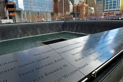 """Ground Zero"" Memorial. NY, NY. 2013"