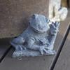 Frog pot holder - 77 dpi