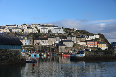 Entrance to Mevagissey Inner Harbour