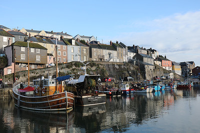 Fishing boats at Mevagissey