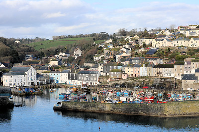 Mevagissey Harbour view