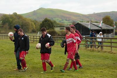 Penybont United v. Brecon Northcote, Radnorshire Cup quarter-final, 23/10/2016