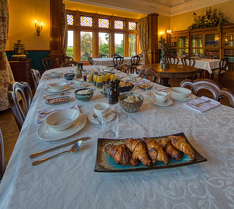 Breakfast at Pen-y-bryn