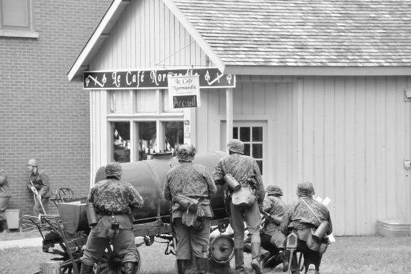 World War 2 reenactment