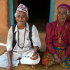 Nepali husband and wife of many years at their home.