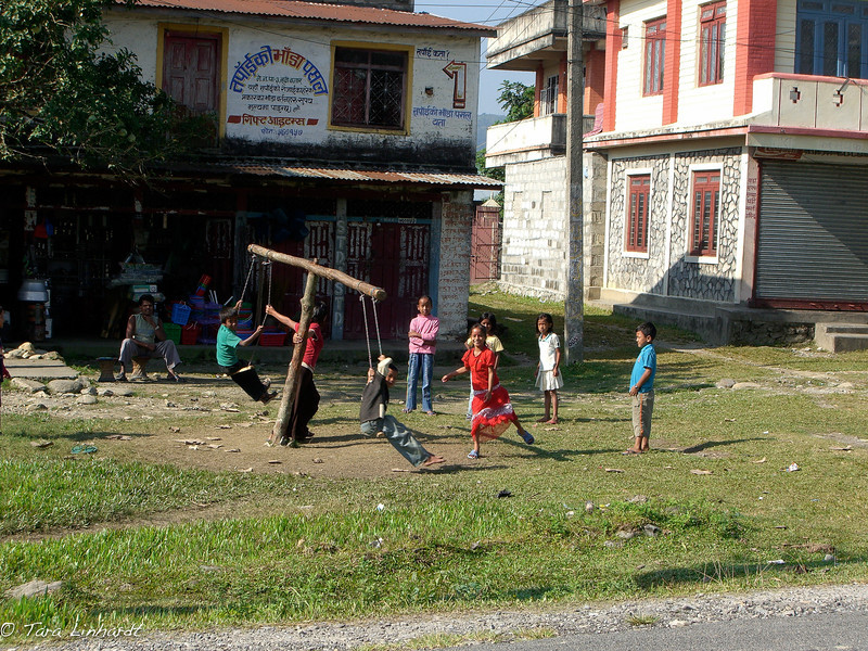 Nepali swing for the swing season.