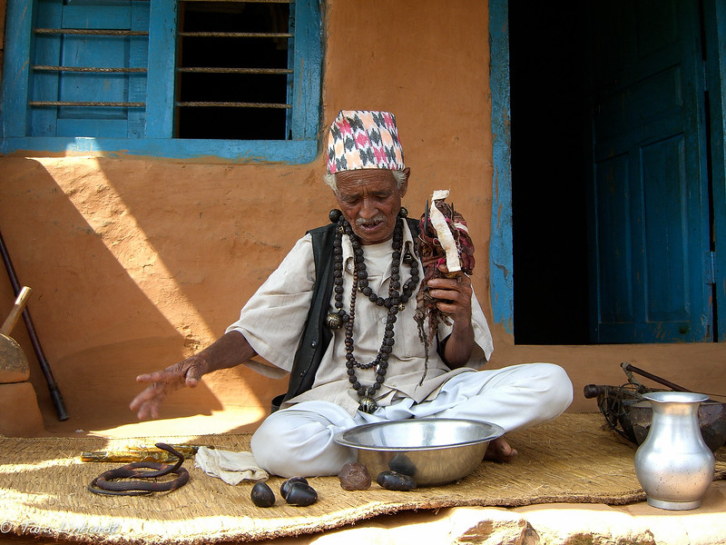 Nepali shaman tools explained