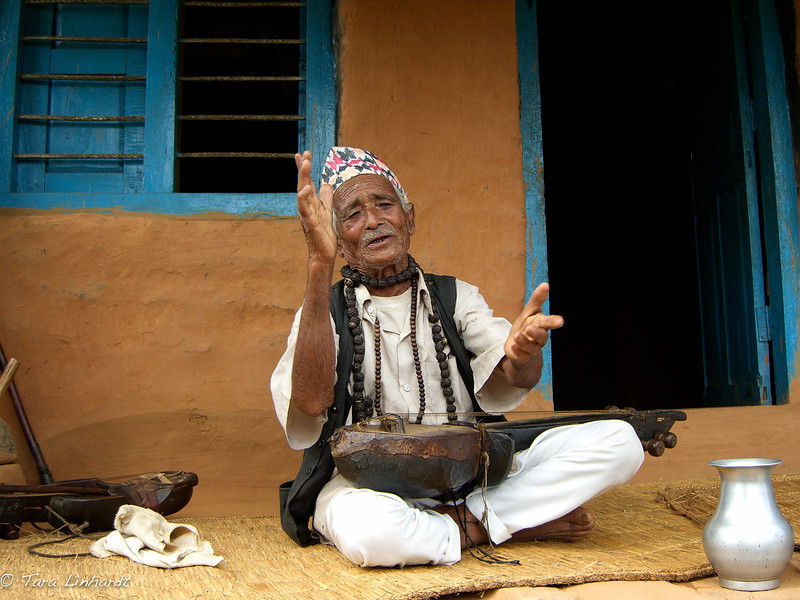 Nepali musician and shaman explains how things are
