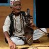 Nepali musician/shaman