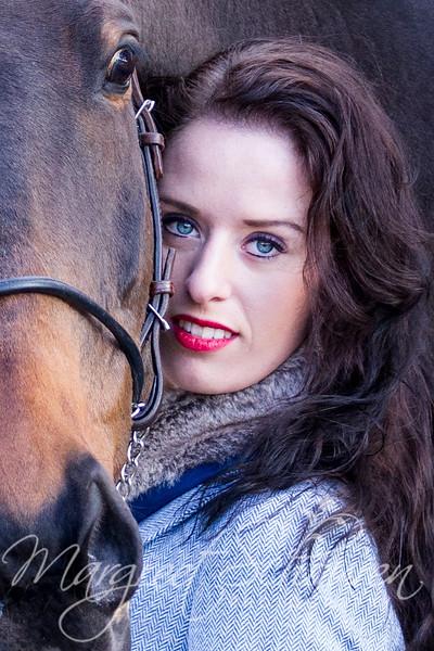 Marleen winnaar fotoshoot Horse Event 2012