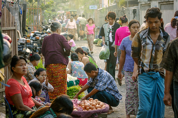 I enjoy markets around the world - but outdoor, independent, tradition, morning markets may be my favorite.
