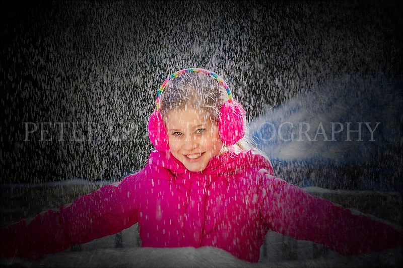 Playing in the snow 2018