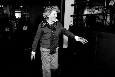 2013-10-18 Saint-Lambert: Mme Clémence Desrochers lors de sa présence comme porte parole des IMPATIENTS  à Espace création Dominique Payette