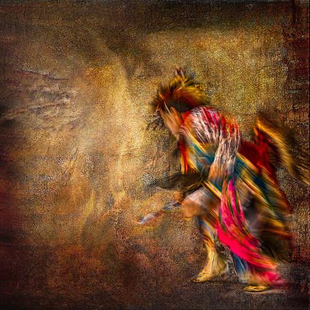 Seminole Tribal Dancer - Retreat