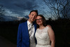 Sunset on Mark and Gemma's big day April 2015