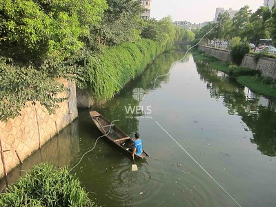 Canal navigation in Hangzhou China by kstellick