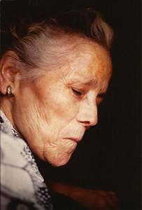 (photo numérisée) Espagne 1985:Bella abuela