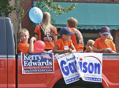 Parade in Marietta, Ohio.