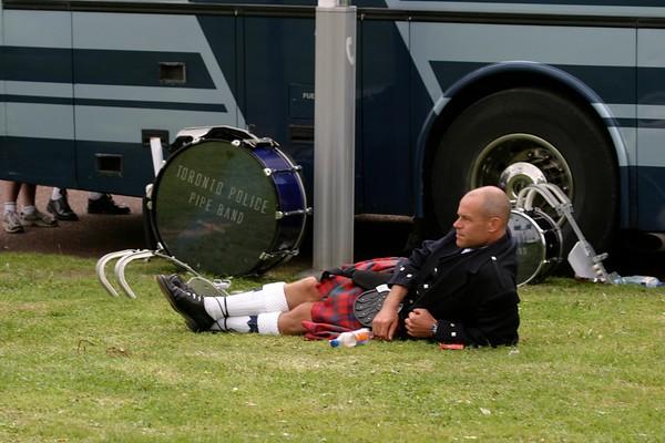 Drummer seeks solitude
