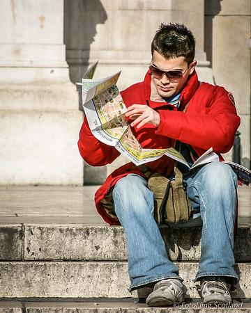 A Tourist in Paris