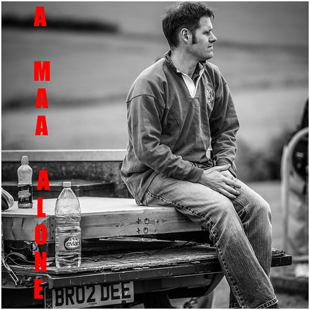 A Man Alone Album - Title Card