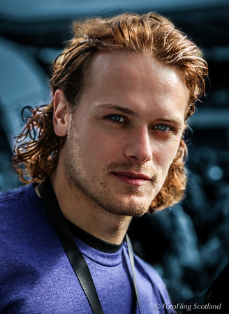 Heughan, Sam; Actor, Edinburgh 2014