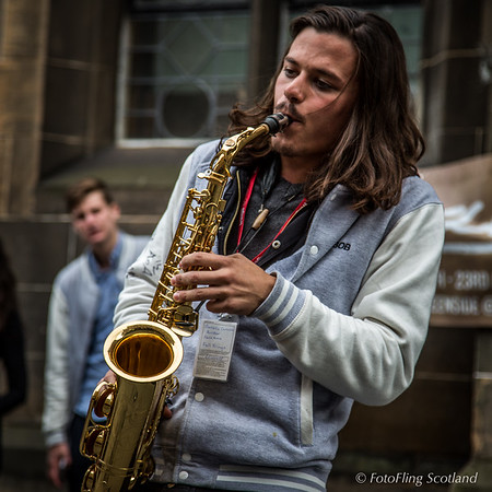 Sax on the High Street