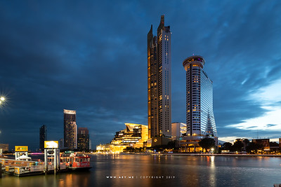 ICONSIAM and Millennium Hilton Bangkok