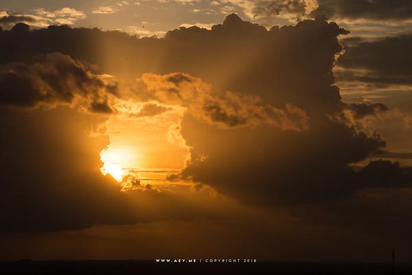 Sun, Sky & Cloud