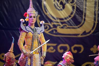 Khon at Wat Makut