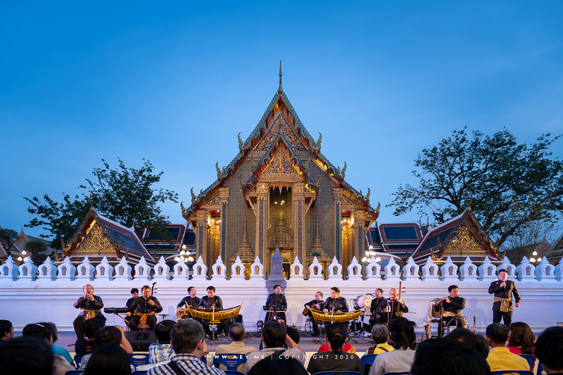 Thai Music, the 150th Anniversary of Wat Ratchabophit