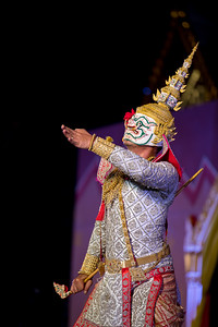 "Tribute Dance in Honor of HRH Princess Maha Chakri Sirindhorn, Dance Drama ""How Ganesha Loses His Tusk"" and Khon Performance of ""Sita Goes to War"" from the Adbhuta Ramayana"
