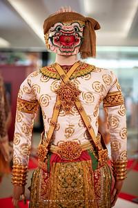 Hanuman Khon Costumes