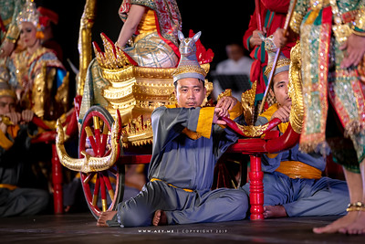 "Khon performance: ""The Bow Lifting Ceremony"""