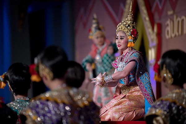 """Lakhon Chatri Dance Drama """"Rathasen"""" Tuesday, Thai Culture Heritage Preservation Week, National Museum Bangkok by Office of Performing Arts, Fine Arts Department, Ministry of Culture"""