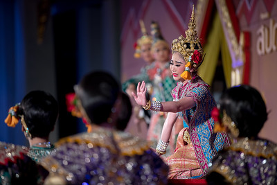 "Lakhon Chatri Dance Drama ""Rathasen"" Tuesday, Thai Culture Heritage Preservation Week, National Museum Bangkok by Office of Performing Arts, Fine Arts Department, Ministry of Culture"