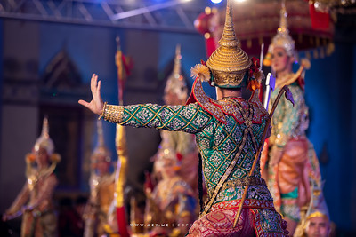 """Khon masked dance performance: """"Honor of Rama: The Perfect Embodiment of the Ten Virtues of Kings"""""""
