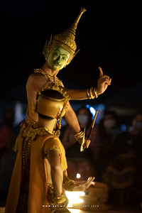 Khon at Wat Prasat Nonthaburi