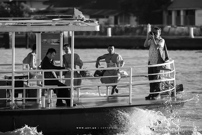 People on a Boat, Chao Phraya River