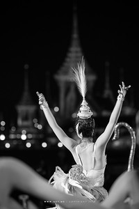 Manohra, the Royal ballet, composed by the late King Bhumibol Adulyadej at his Royal Cremation