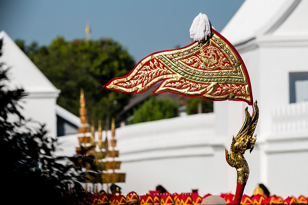 Phra Maha Phichai Ratcharot (The Great Victory Chariot), the Rehearsals for the Royal Funeral Processions for His Majesty King Bhumibol Adulyadej