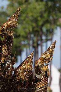 Naga on Phra Maha Phichai Ratcharot (The Great Victory Chariot), the Rehearsals for the Royal Funeral Processions for His Majesty King Bhumibol Adulyadej