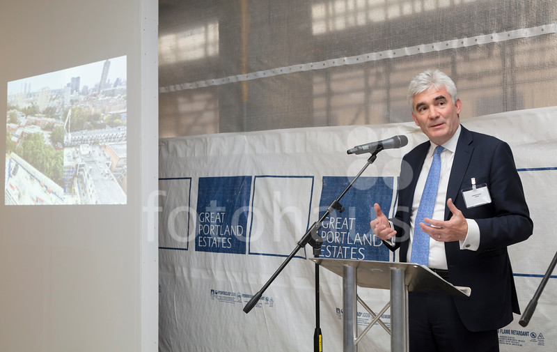 148 Old Street - topping-out ceremony