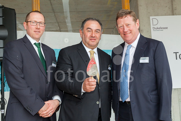 61 Oxford Street - topping-out ceremony