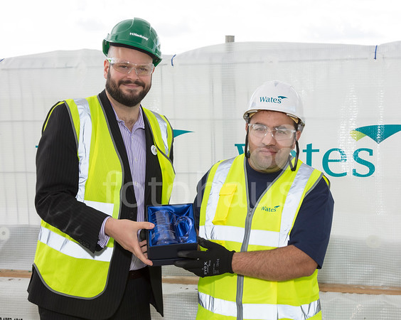 Anthology, Hoxton Press - topping-out ceremony