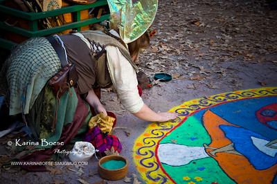 DSC_2165 renaissance festival sand painting 2009 1