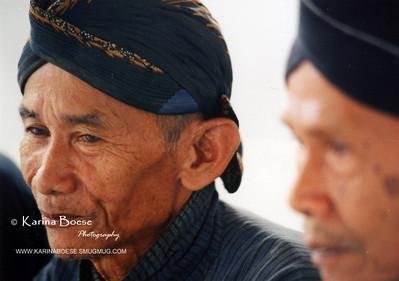 Javanese man.  Jogyakarta, Indonesia June 2002